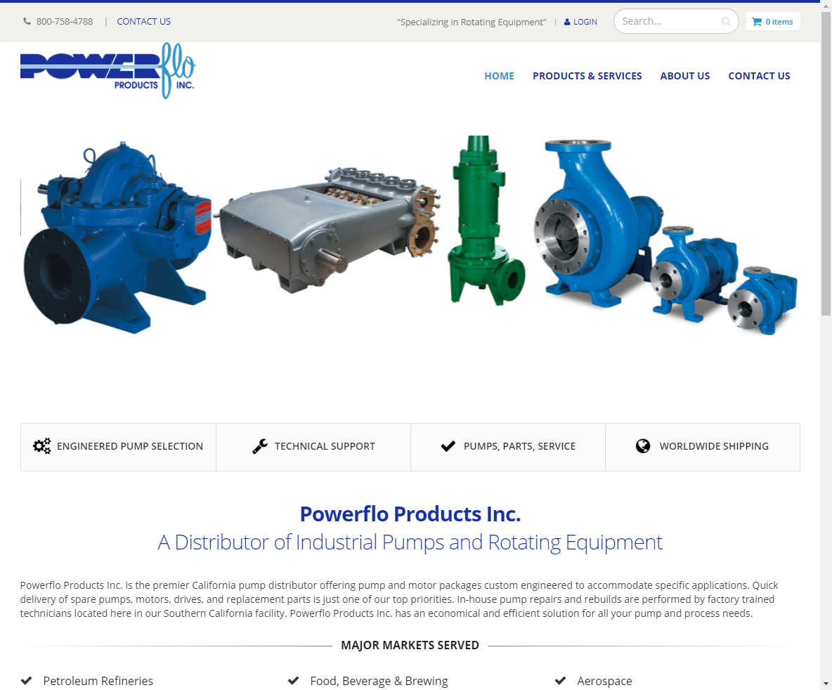 Powerflo Products