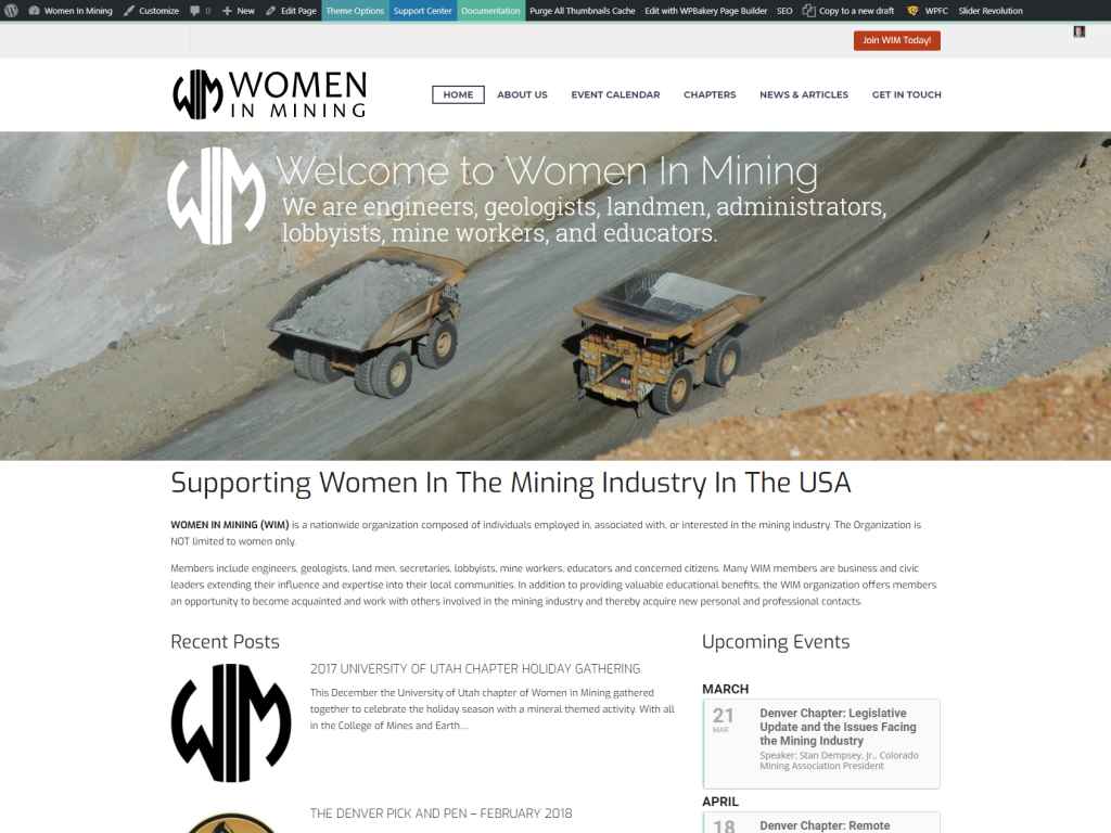 Women In Mining National Organization