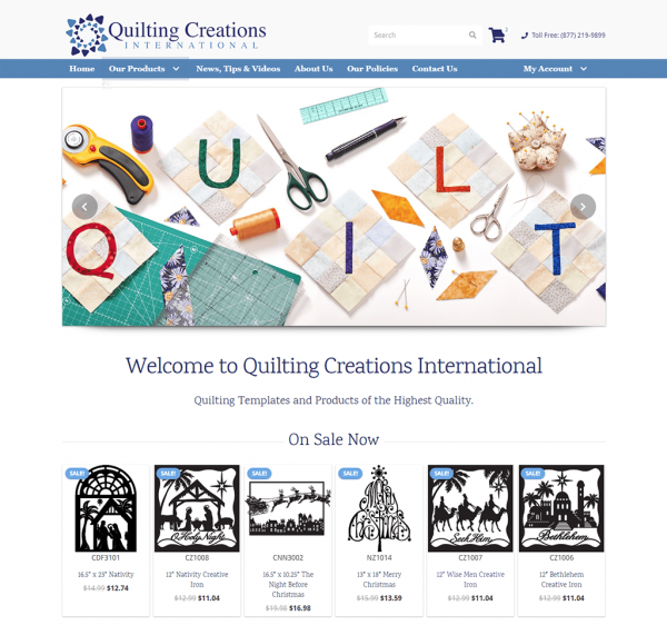 Quilting Creations International - Quilting Templates and Stencils