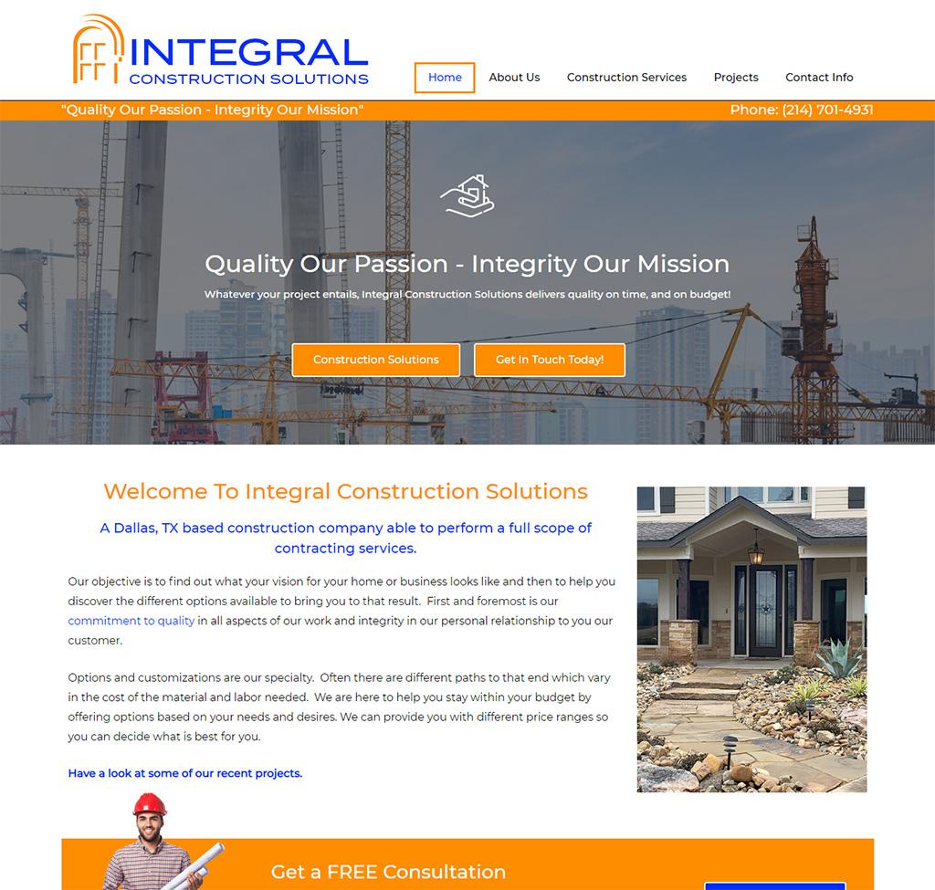 Integral Construction Solutions