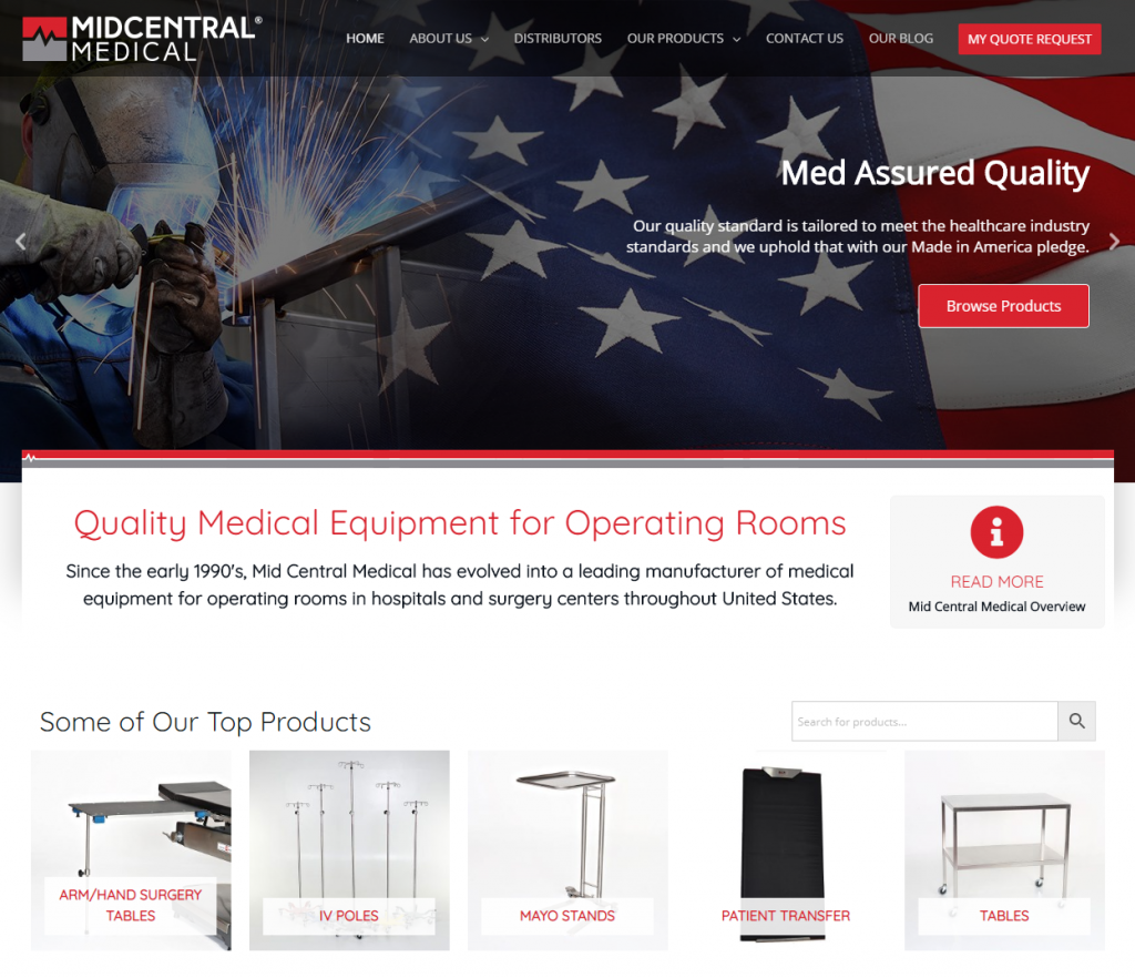 Mid Central Medical - Quality Medical Equipment for Hospitals and Surgical Centers throughout the USA